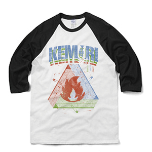 Fire Triangle ラグランT-shirt