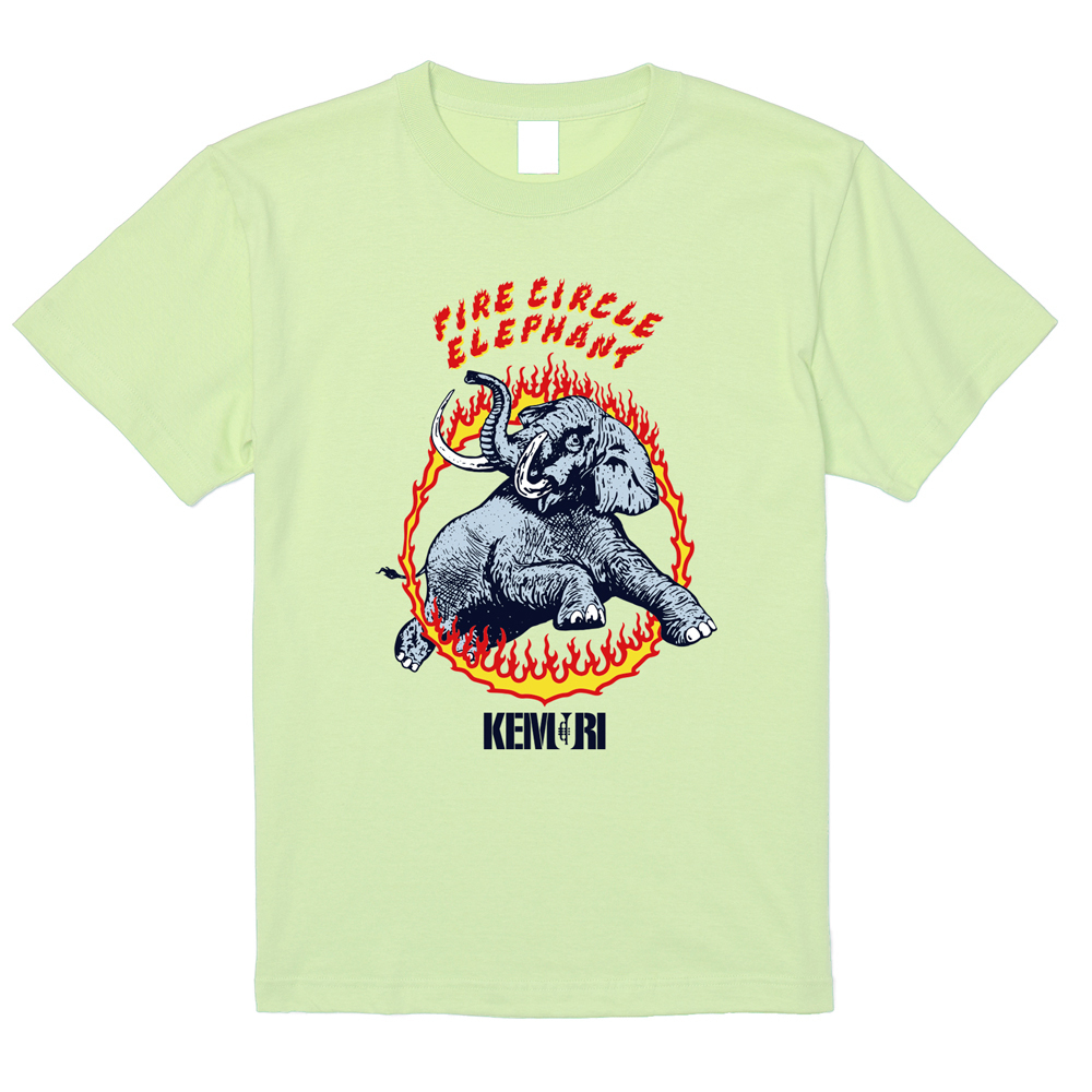 FIRE CIRCLE ELEPHANT T-shirt